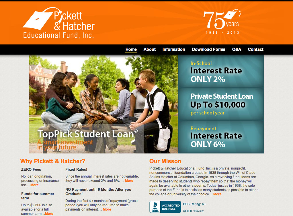 Interest Rates of Student Loans   Pickett   Hatcher Educational Fund