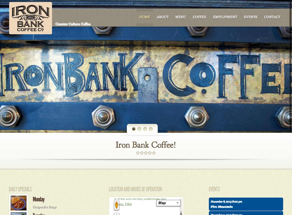 Iron Bank Coffee Company   Iron Bank Coffee Company