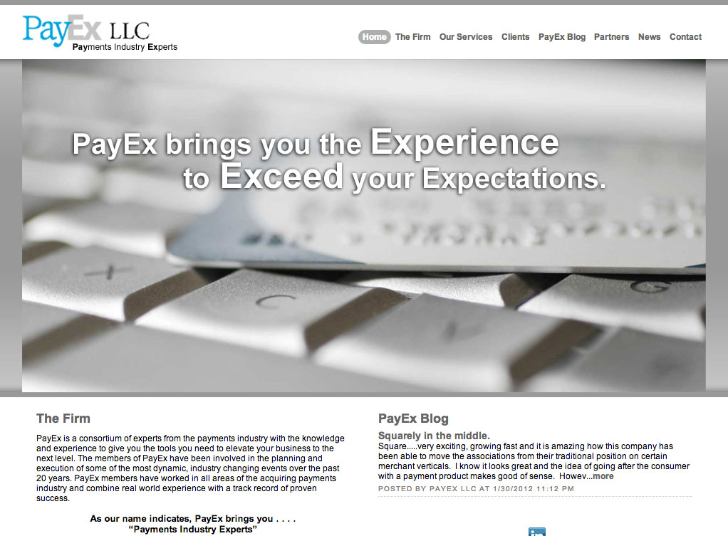 PayEx LLC Payments Industry Experts
