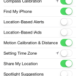 iPhone Location Systems