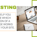 A/B testing improves your site performance