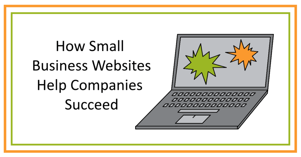 Small business websites help companies succeed