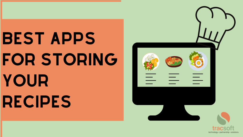 Recipe organizing apps store your favorite recipes