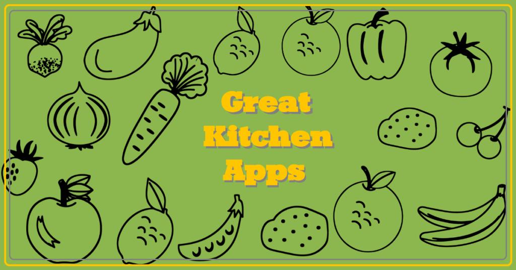 Kitchen apps make cooking easier
