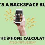 Backspace Feature on iPhone Calculator 📲